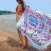 Mat van het Strand van Microfiber van Mandala de Grote Ronde met Leeswijzers