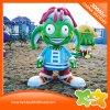 Strumentazione di plastica della decorazione della bambola del giocattolo del parco di divertimenti verde del fumetto da vendere