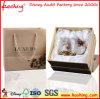 Commerce de gros de bijoux de papier personnalisé de Luxe Boîte cadeau à l'emballage