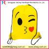 Emoji Sackpack, sac de sport de sac de sac à sac à dos de cordon de Gymsack de formation d'équipe