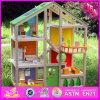 2016 Venda por grosso de madeira do bebé Doll House Toy W06A158
