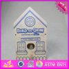2016 het In het groot Huis van de Vogel van het Stuk speelgoed van de Baby Houten, Huis van de Vogel van het Stuk speelgoed van Jonge geitjes DIY het Houten, het Populaire Huis W03b049 van de Vogel van het Stuk speelgoed van Kinderen Houten
