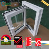 Casement Windows do vidro laminado triplicar-se do impato do furacão do PVC do vinil