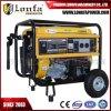 Generadores portables eléctricos de la gasolina del precio 5kVA 5kw
