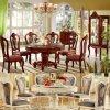 식당 가구를 위한 팔 소파 의자를 가진 식탁