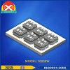 Platten-Wasserkühlung-Kühlkörper 10000W des Aluminium-6063