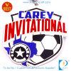 Медаль футбола/футбола Carey пригласительное в золоте/серебре