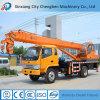 유로 III 또는 IV 트럭을%s 가진 널리 이용되는 10 톤 이동할 수 있는 건축용 기중기
