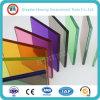 공간 또는 착색했거나 색을 칠했거나 부드럽게 한 안전 PVB에 의하여 박판으로 만들어지는 건축 유리