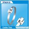 Serres-câble discernables libérables d'acier inoxydable en métal dans lourd