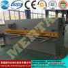 유압 깎는 기계 판금 절단기 QC12y-6X2500
