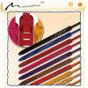 Courroie en cuir de guitare de suède de largeur de 2.3cm et de longueur de 33-57cm