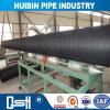 Großer Durchmesser-Aufbau-Polyäthylen HDPE doppel-wandiger gewölbter Rohr-Preis