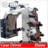 Farben-Braunes Packpapier Flexo Druckmaschinen der Zeichen-Druckerei-vier