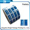 Veegt het Gelamineerde Document van de Folie van het Aluminium van de druk voor Nat Verpakking af