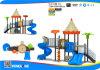Serie clásica del castillo del parque de atracciones del jardín de la infancia