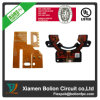 Sola tarjeta de circuitos impresos flexible lateral