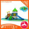 Игровая площадка на открытом воздухе в коммерческих целях слайд-оборудование для детей