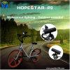 Montagem leve baixa portátil da potência Bank+LED +Bike dos altofalantes de Subwoofer da bicicleta ao ar livre do altofalante de Bluetooth