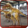 Het lopen met het Kostuum t-Rex van Dinosaurussen