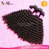 베스트셀러 7A Remy 머리 Malaysian Virgin 비꼬인 곱슬머리는 묶는다 (QB-MVRH-BW)