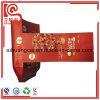 La bolsa de plástico de empaquetado Nuts de la impresión de encargo de la insignia con el escudete