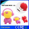 Adorável música a unidade flash USB do Robô