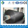 Tela sumergida 1500d de la cuerda del neumático del poliester usada para el producto de goma