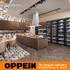 Cucina personalizzata Exbit-Moderna 2017 di vetro Tempered di Oppein Caton correttamente (PLCC17060)