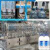 Máquina de relleno y que capsula del animal doméstico de 10 litros del agua de botella automática