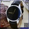 Il regalo casuale Charming di Pormotional dell'orologio di moda di modo della vigilanza di signore della cassa di acciaio inossidabile Yxl-118 guarda le donne di cuoio della vigilanza di orologio dell'OEM