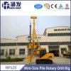 Hf525 Mini appareil de forage rotatif hydraulique complet pour la vente, la profondeur de perçage 25m