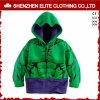 Verde luminoso d'avanguardia Hoodies su ordinazione di colore di modo per i capretti (ELTKHI-3)