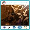 type glace décorative en verre de décoration de 4-10mm de construction