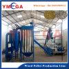 Pallina di legno della segatura automatica della biomassa che fa la linea di produzione