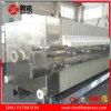 Presse hydraulique automatique de filtre à plaque de faisceau latéral pour l'alcaloïde
