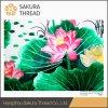 Oeko-Tex Clase 1 Bordados Inicio Flores chino abstracta pintura decorativa