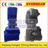 Наклона коробки передач фланца IEC Gearmotor стандартного спирально