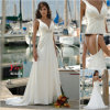 Vestido de casamento nupcial, vestido de casamento da praia (BD3274)