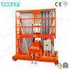 plataforma de funcionamiento de elevación hidráulica 10m para el uso del almacén y del taller