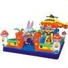 Aufblasbarer reizender Prahler-federnd Schloss für Kind-aufblasbare Spielwaren (JS4046)