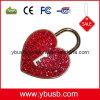 USB vermelho do coração do amor (YB-88)