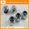 Faites-en-Chine Ss304/316 l'écrou de blocage en Nylon (DIN982/985)