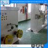 El eje doble toma la máquina de la producción del cable de alambre del estirador
