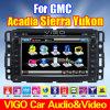 Coche DVD GPS Sat Nav para la sierra de Yukon del Acadia de Gmc