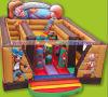 Gorilas de l*13'w Inflatables del nuevo del diseño 0.55m m encerado 16.4 del PVC '/juego inflable de castillos animosos
