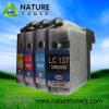 Cartucho de tinta compatible LC137bk, LC135c, M, Y, LC133bk / C / M / Y para impresoras Brother