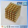 Neocube Gold Magnetic Balls Ímãs de quebra-cabeça Ímã de ouro