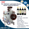 Bouteille ronde semi-automatique pour tous les jours de la machine d'étiquetage de produits chimiques (SL-130)