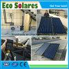 Revêtement en chrome noir de la plaque plat/collecteur solaire chauffe-eau solaire pour la fourniture de projet d'eau chaude